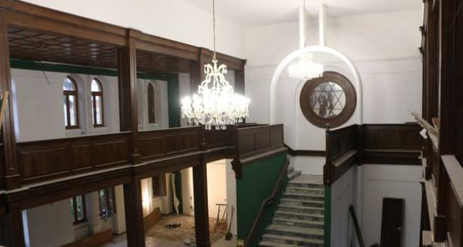 Megkezdődtek a Ziffer Sándor Galéria felújításának munkálatai
