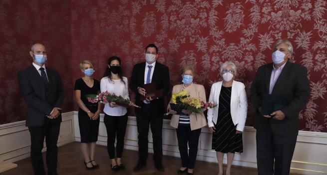 Pulszky-díjat kapott munkatársunk